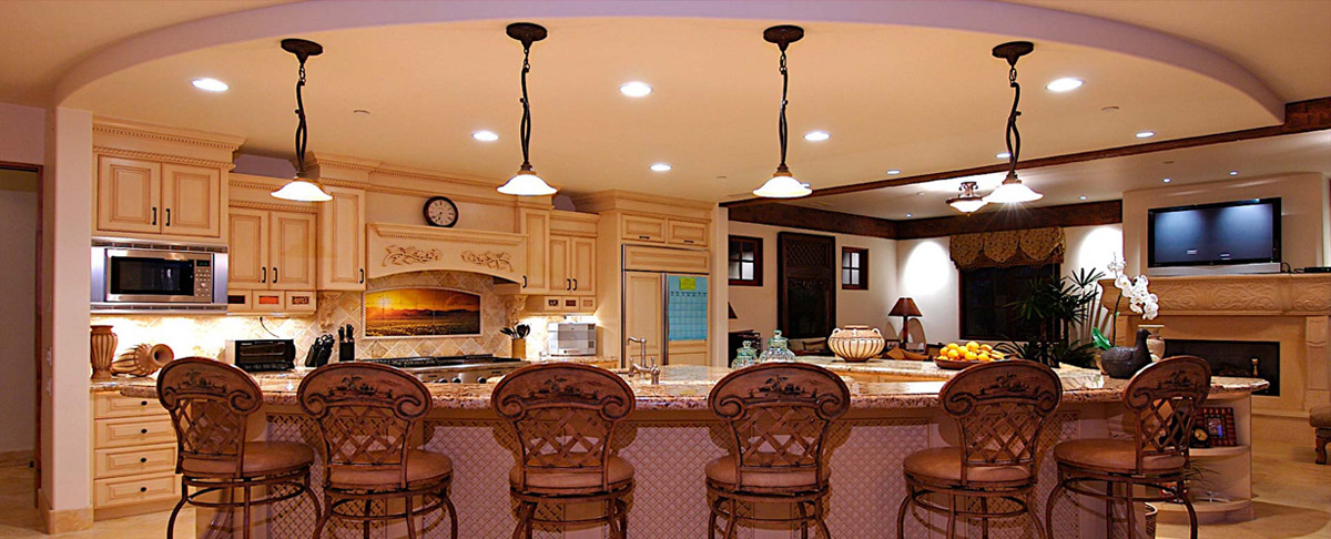 Residential lighting services for Residential interior designing services