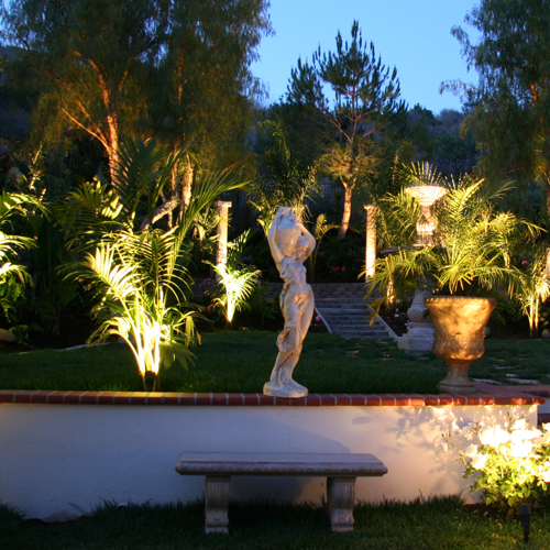 Landscape Lighting Services San Diego